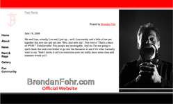 Brendan Fehr - Official Website