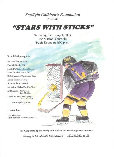 Advert - Stars with sticks