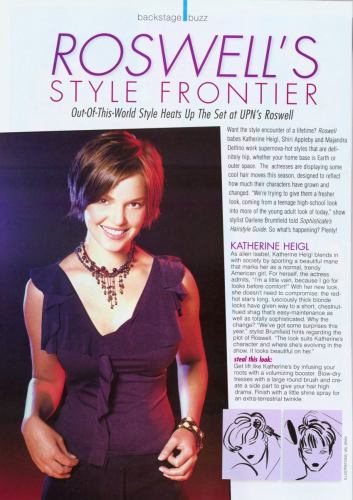 Katherine Heigl in Sophisticate's Hairstyle Guide