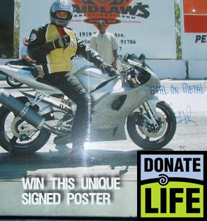 Bid on a Brendan Fehr Biker Boyz poster