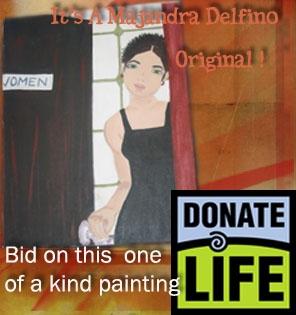 Bid on a original Majandra painting