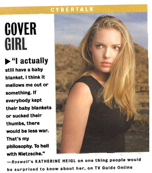 Katherine Heigl: Cover girl
