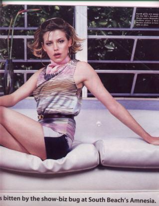 Majandra Delfino in Ocean Drive Magazine