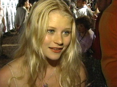 Emilie de Ravin at the DVD release party
