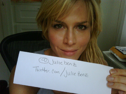 julie benz without makeup
